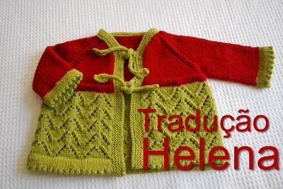 tricô em prosa - receita traduzida - Helena