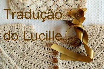 tricô em prosa - Receita traduzida Lucille