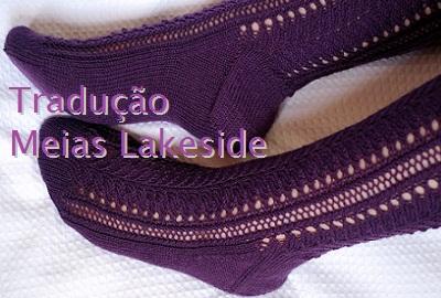 tricô em prosa - Receita traduzida Meias Lakeside