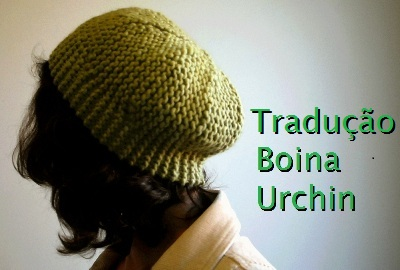 tricô em prosa - Receita traduzida Boina Urchin