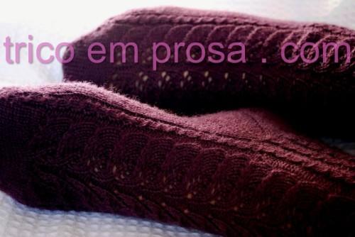blog Tricô em Prosa - Receita traduzida das Meias Baudelaire de CookieA