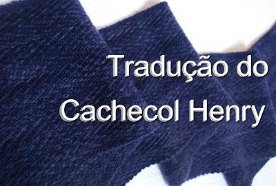 tricô em prosa - Receita traduzida Cachecol Henry