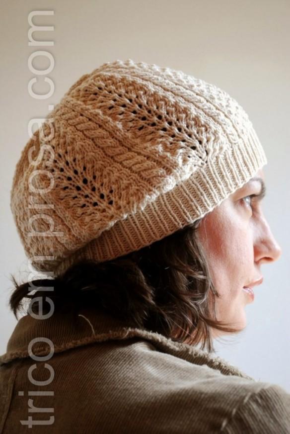 trico em prosa.com - gorro rosalina de algodão