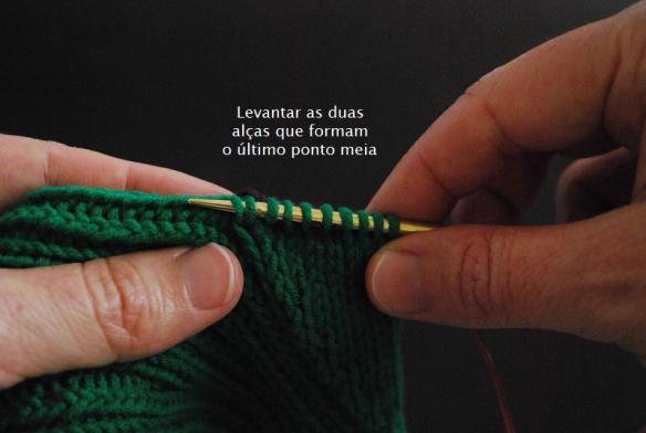 blog tricô em prosa - tutorial - Como evitar buracos no polegar de luvas